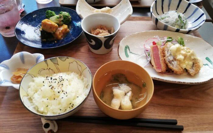 10月6日のりゅう菜の美味しいランチ(^o^)デサートもついて1,000円です(^^)皆さんもランチはりゅう菜で\(^o^)/