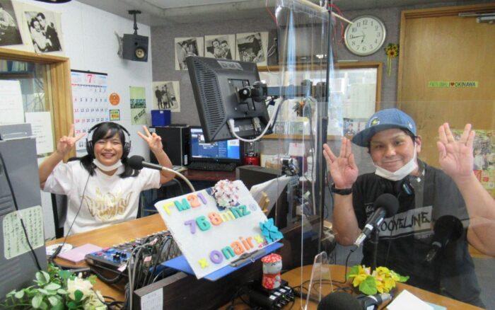番組名「たま子とわちゃコの島ぜんぶてびちーっす」毎週金曜日18時30分~19時On Air\(^o^)/