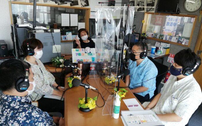 8月31日放送分・・・「てぃらカフェ」毎週火曜日10時~10時50分on-air(*^^)v